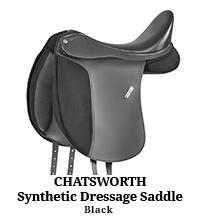 Chatsworth Synthetic Dressage Saddle