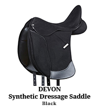 Devon Synthetic Dressage Saddle
