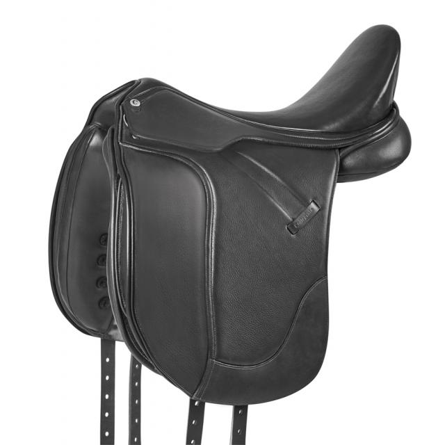 Collegiate Esteem Dressage Saddle Black