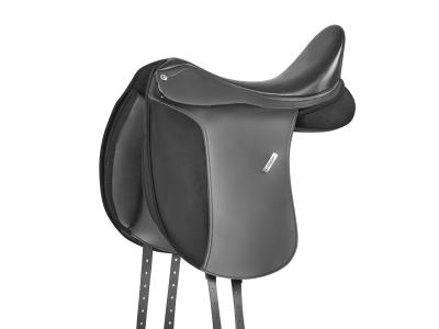 Collegiate Chatsworth Synthetic Dressage Saddle Black