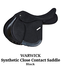 Warwick Synthetic Close Contact Saddle